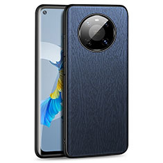 Handyhülle Hülle Luxus Leder Schutzhülle K01 für Huawei Mate 40 Blau