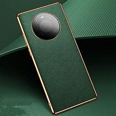 Handyhülle Hülle Luxus Leder Schutzhülle K02 für Huawei Mate 40 Pro Grün