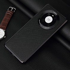 Handyhülle Hülle Luxus Leder Schutzhülle K06 für Huawei Mate 40 Pro Schwarz