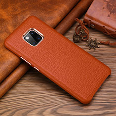 Handyhülle Hülle Luxus Leder Schutzhülle L01 für Huawei Mate 20 RS Braun