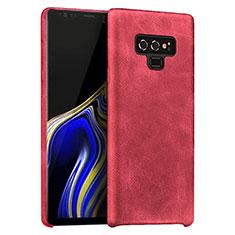 Handyhülle Hülle Luxus Leder Schutzhülle L01 für Samsung Galaxy Note 9 Rot
