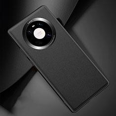 Handyhülle Hülle Luxus Leder Schutzhülle L04 für Huawei Mate 40 Pro Schwarz
