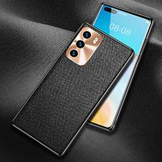 Handyhülle Hülle Luxus Leder Schutzhülle N03 für Huawei P40 Schwarz