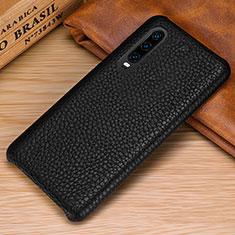 Handyhülle Hülle Luxus Leder Schutzhülle P01 für Huawei P30 Schwarz
