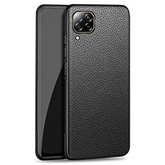 Handyhülle Hülle Luxus Leder Schutzhülle R01 für Huawei P40 Lite Schwarz