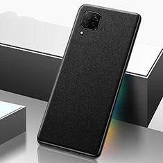 Handyhülle Hülle Luxus Leder Schutzhülle R02 für Huawei P40 Lite Schwarz