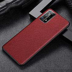 Handyhülle Hülle Luxus Leder Schutzhülle R02 für Huawei P40 Pro+ Plus Rot