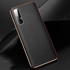 Handyhülle Hülle Luxus Leder Schutzhülle R03 für Oppo Find X2 Neo Schwarz
