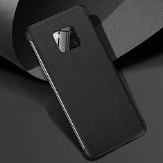Handyhülle Hülle Luxus Leder Schutzhülle R04 für Huawei Mate 20 Pro Schwarz