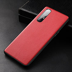 Handyhülle Hülle Luxus Leder Schutzhülle R04 für Oppo Find X2 Neo Rot