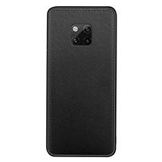 Handyhülle Hülle Luxus Leder Schutzhülle R07 für Huawei Mate 20 Pro Schwarz