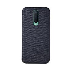 Handyhülle Hülle Luxus Leder Schutzhülle R07 für OnePlus 8 Schwarz