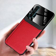 Handyhülle Hülle Luxus Leder Schutzhülle R08 für Huawei Honor 20 Pro Rot