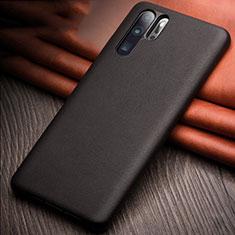 Handyhülle Hülle Luxus Leder Schutzhülle R11 für Huawei P30 Pro Schwarz