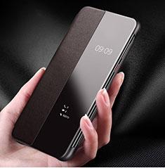 Handyhülle Hülle Luxus Leder Schutzhülle S01 für Huawei P30 Pro Braun