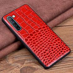 Handyhülle Hülle Luxus Leder Schutzhülle S04 für Oppo Find X2 Lite Rot