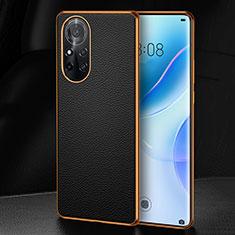Handyhülle Hülle Luxus Leder Schutzhülle S07 für Huawei Nova 8 5G Schwarz