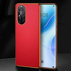 Handyhülle Hülle Luxus Leder Schutzhülle S07 für Huawei Nova 8 Pro 5G Rot