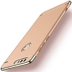Handyhülle Hülle Luxus Metall Rahmen und Kunststoff für Huawei Honor 8 Gold