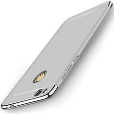 Handyhülle Hülle Luxus Metall Rahmen und Kunststoff für Huawei Honor 8 Lite Silber