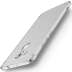 Handyhülle Hülle Luxus Metall Rahmen und Kunststoff für Huawei Mate 8 Silber
