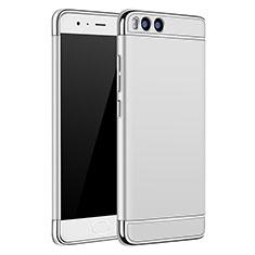 Handyhülle Hülle Luxus Metall Rahmen und Kunststoff für Xiaomi Mi 6 Silber