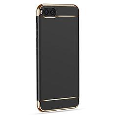 Handyhülle Hülle Luxus Metall Rahmen und Kunststoff für Xiaomi Mi Note 3 Schwarz