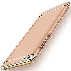 Handyhülle Hülle Luxus Metall Rahmen und Kunststoff für Xiaomi Mi Note Gold