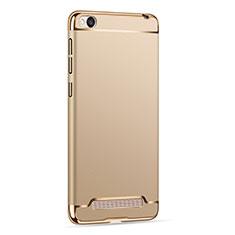 Handyhülle Hülle Luxus Metall Rahmen und Kunststoff für Xiaomi Redmi 4A Gold