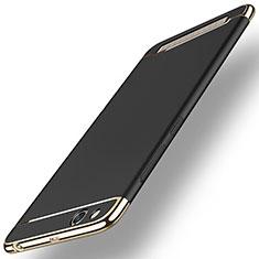 Handyhülle Hülle Luxus Metall Rahmen und Kunststoff für Xiaomi Redmi 5A Schwarz