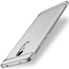 Handyhülle Hülle Luxus Metall Rahmen und Kunststoff für Xiaomi Redmi Note 4X Silber