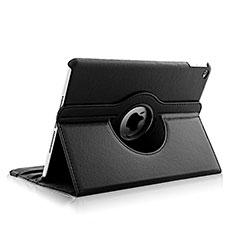 Handyhülle Hülle Rotierende Tasche Leder für Apple iPad Air 2 Schwarz