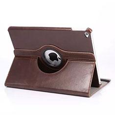 Handyhülle Hülle Rotierende Tasche Leder für Apple iPad Mini 4 Braun