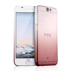 Handyhülle Hülle Schutzhülle Durchsichtig Farbverlauf für HTC One A9 Rosa