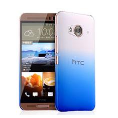 Handyhülle Hülle Schutzhülle Durchsichtig Farbverlauf für HTC One Me Blau