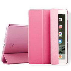 Handyhülle Hülle Stand Tasche Leder für Apple iPad Air 2 Rosa