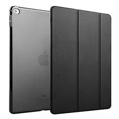 Handyhülle Hülle Stand Tasche Leder für Apple iPad Mini 4 Schwarz