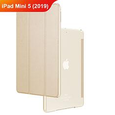 Handyhülle Hülle Stand Tasche Leder für Apple iPad Mini 5 (2019) Gold