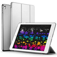 Handyhülle Hülle Stand Tasche Leder für Apple iPad Pro 10.5 Grau