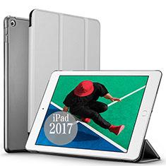 Handyhülle Hülle Stand Tasche Leder für Apple New iPad Pro 9.7 (2017) Silber