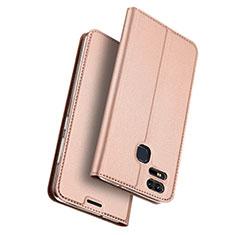 Handyhülle Hülle Stand Tasche Leder für Asus Zenfone 3 Zoom Rosegold