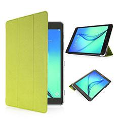 Handyhülle Hülle Stand Tasche Leder für Samsung Galaxy Tab S2 8.0 SM-T710 SM-T715 Grün