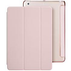 Handyhülle Hülle Stand Tasche Leder L01 für Apple New iPad 9.7 (2018) Rosa