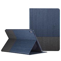 Handyhülle Hülle Stand Tasche Leder L02 für Apple iPad Pro 9.7 Blau