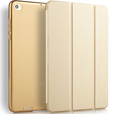 Handyhülle Hülle Stand Tasche Leder L02 für Xiaomi Mi Pad 2 Gold