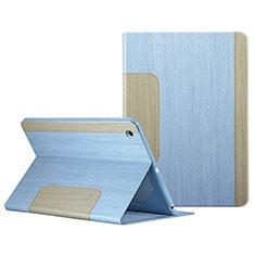 Handyhülle Hülle Stand Tasche Leder L03 für Apple iPad Mini 2 Hellblau