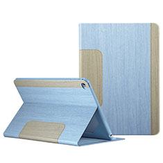 Handyhülle Hülle Stand Tasche Leder L03 für Apple iPad Mini 4 Hellblau