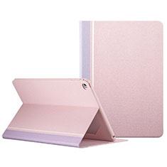 Handyhülle Hülle Stand Tasche Leder L03 für Apple iPad Mini 4 Rosa