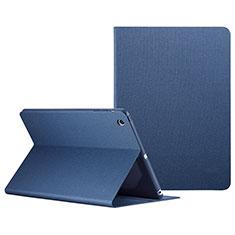 Handyhülle Hülle Stand Tasche Leder L04 für Apple iPad Mini 3 Blau
