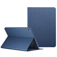 Handyhülle Hülle Stand Tasche Leder L04 für Apple iPad Mini 4 Blau